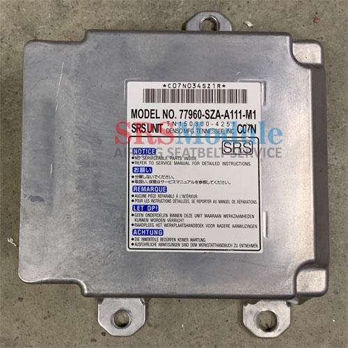 Honda Pilot Airbag Module Reset 77960-SZA-A111-M1 - SRS Airbag Module Reset  & Seatbelt Repair Services