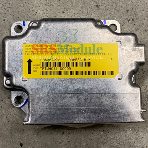 Mitsubishi Lancer Evolution EVO X Airbag Module Reset P8635A272 - SRS  Airbag Module Reset & Seatbelt Repair Services