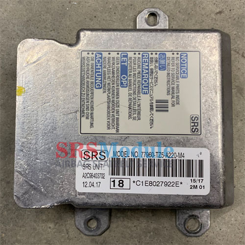 Acura MDX Airbag Module Reset 77960-TZ5-A220-M4