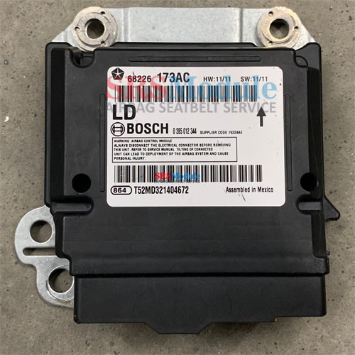 Dodge Charger Airbag Module Reset 68226173AC - SRS Airbag Module Reset &  Seatbelt Repair Services