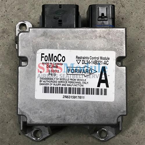 Ford F150 Airbag Module Reset DL34-14B321-AC - SRS Airbag Module Reset &  Seatbelt Repair Services