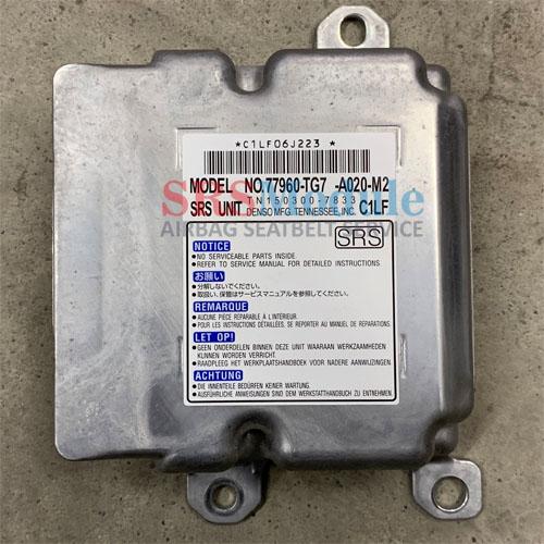 Honda Pilot Airbag Module Reset 77960-A020-M2 - SRS Airbag Module Reset &  Seatbelt Repair Services